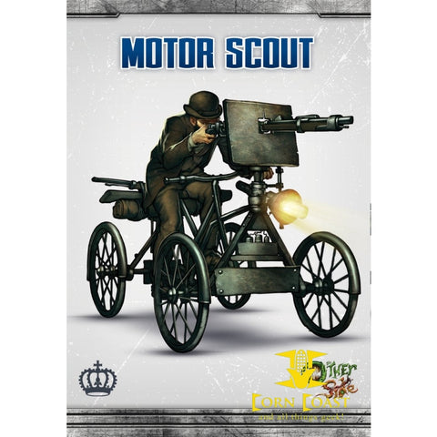 Motor Scout Wyrd games - Corn Coast Comics