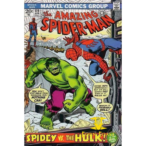 Amazing Spider-Man #119 - Back Issues