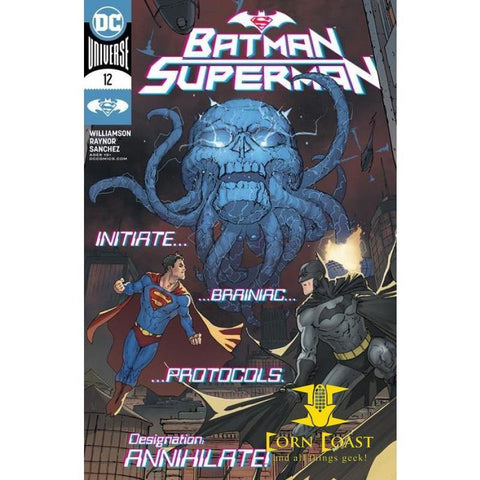 BATMAN SUPERMAN #12 CVR A DAVID MARQUEZ - New Comics