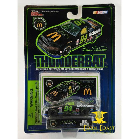 Bill Elliott McDonald's Thunderbat NASCAR Diecast Car 1/64