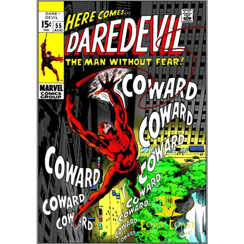 Daredevil #55 FN - Back Issues