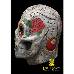 Day of the Dead Zombie Mask - Corn Coast Comics