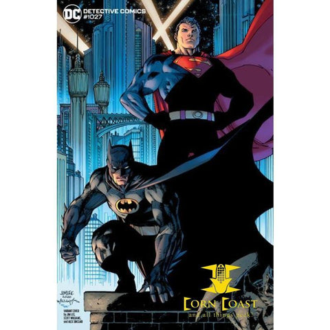 DETECTIVE COMICS #1027 CVR E JIM LEE BATMAN SUPERMAN VAR -