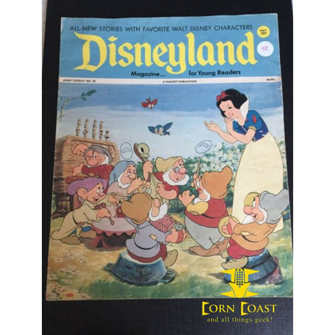 Disneyland Magazine (1972-1974 Fawcett) #32 VG - Corn Coast Comics