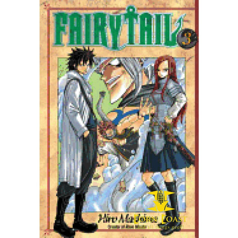 Fairy Tail Manga Volume 3 - Books-Graphic Novels