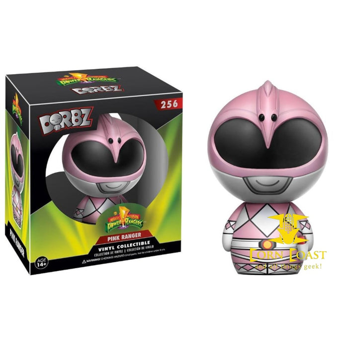 Pink Power Ranger Dorbz Figure - Corn Coast Comics