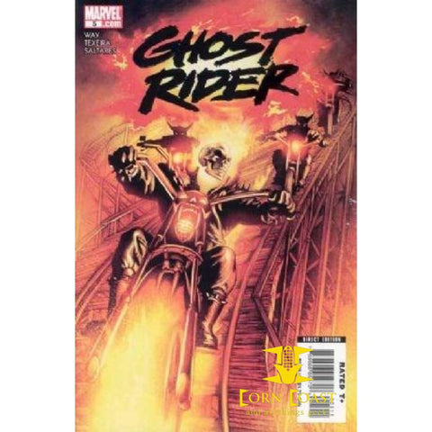 Ghost Rider (2006 4th Series) #5 VF - Back Issues
