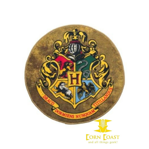 Harry Potter Hogwarts Crest Doormat/Rug - Corn Coast Comics