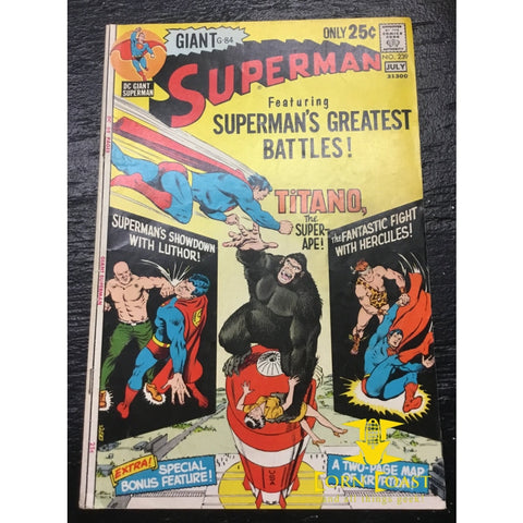 Superman (1939 1st Series) #239 FN