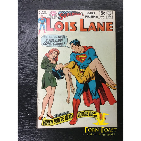Superman's Girlfriend Lois Lane (1958) #102 VF