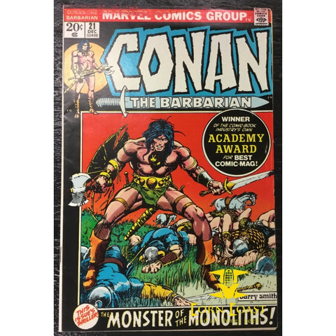 Conan the Barbarian (1970 Marvel) #21 VF - Corn Coast Comics