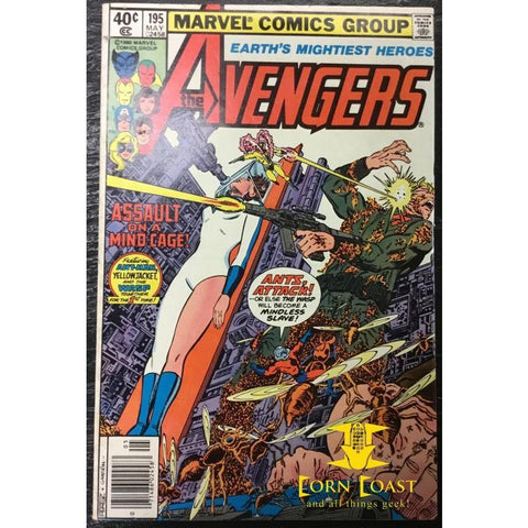 Avengers (1963 1st Series) #195 VF-NM - Corn Coast Comics