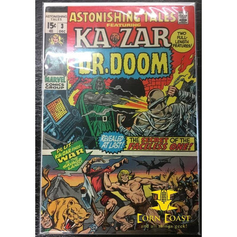 Astonishing Tales (1970) #3 VF - Corn Coast Comics