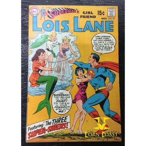 Superman's Girlfriend Lois Lane (1958) #97 VF-NM