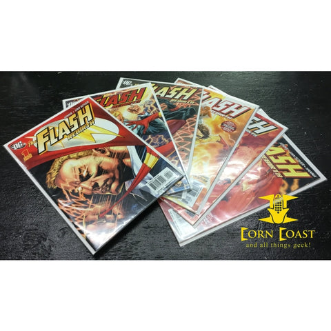 Flash Rebirth 1-6 all variant covers (1 of 25)! Save a bundle. - Corn Coast Comics