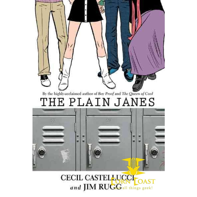 The Plain Janes Paperback TP - Corn Coast Comics