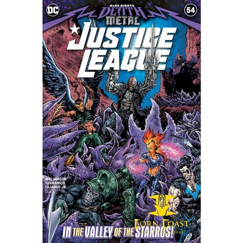 JUSTICE LEAGUE #54 CVR A LIAM SHARP (DARK NIGHTS DEATH