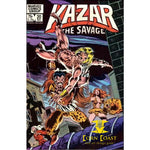 Kazar the Savage #20 NM - Back Issues