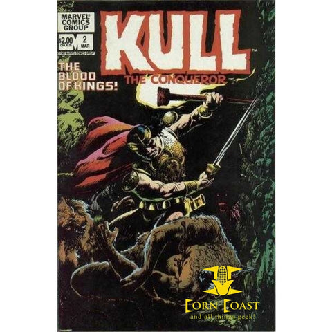 Kull The Conqueror #2 NM - Back Issues