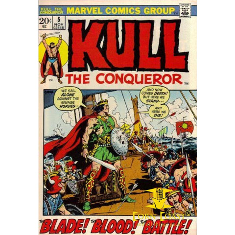 Kull the Conqueror #5 VF - Back Issues