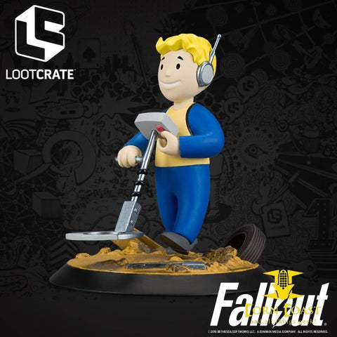 Loot Crate Fallout Fortune Finder Perk Figure - Toys &