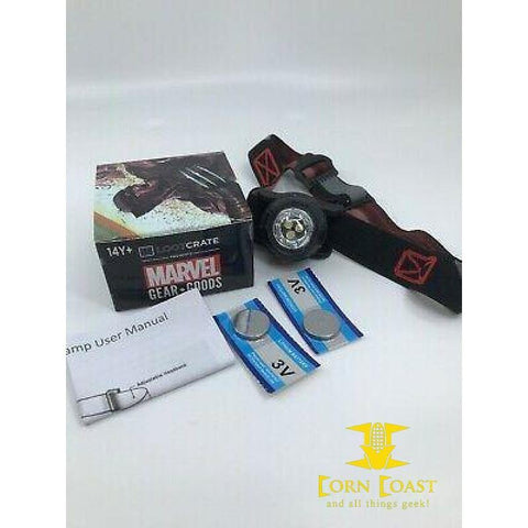 Loot Crate Marvel Gear & Goods X-Force headlamp Wolverine -