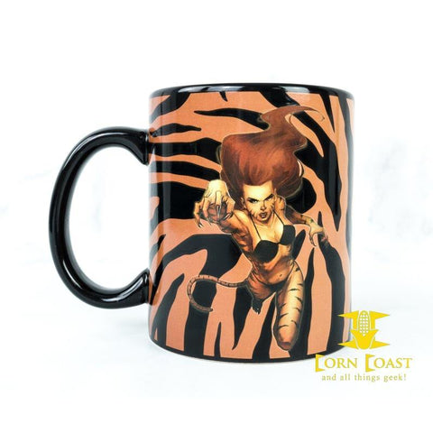 Loot Crate Marvel TIGRA coffee mug Marvel Gear and Goods