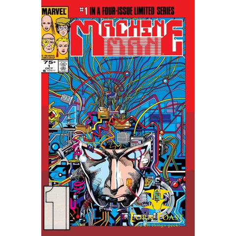 Machine Man #1 NM - Back Issues