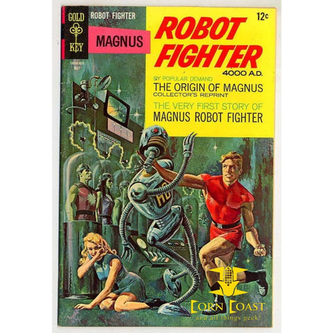 Magnus Robot Fighter #22 - Back Issues