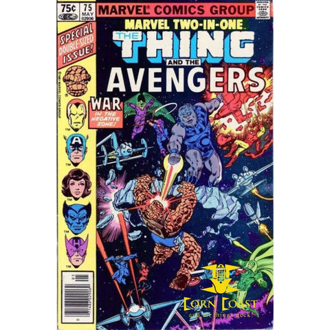 Marvel Two-in-One... featuring the Thing and The Avengers