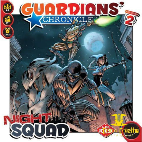 Guardians' Chronicles: Night Squad Expansion. 2 - Corn Coast Comics