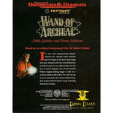 AD&D RPGA Module - WAND OF ARCHEAL - Corn Coast Comics