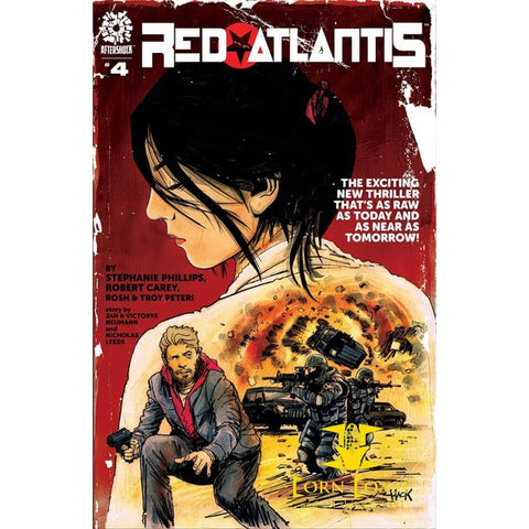 RED ATLANTIS #4 - New Comics