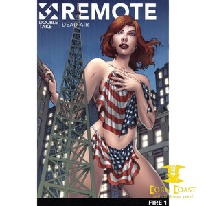 Remote Vol 1 Double Take Night Of The Living Dead Universe Graphic Novel TPB Fire - Corn Coast Comics