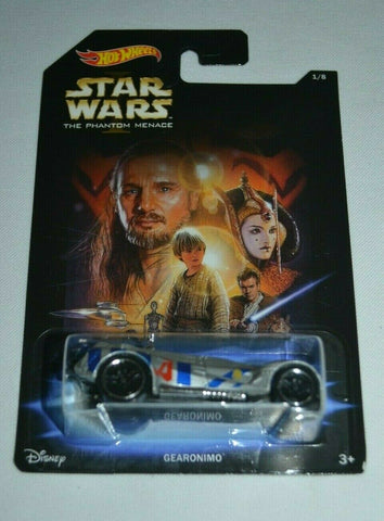 GEARONIMO Star Wars: the Phantom Menace Hot Wheels 2014