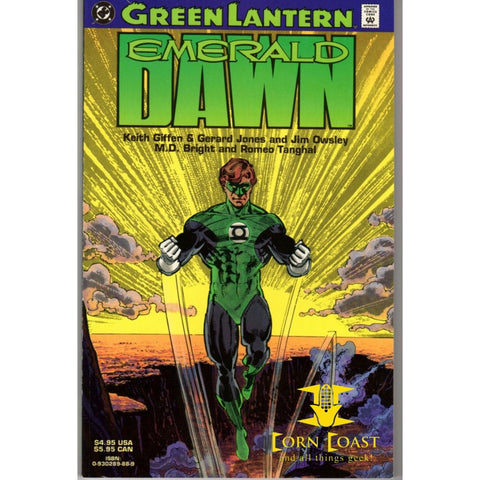 Green Lantern Emerald Dawn TP first print - Corn Coast Comics