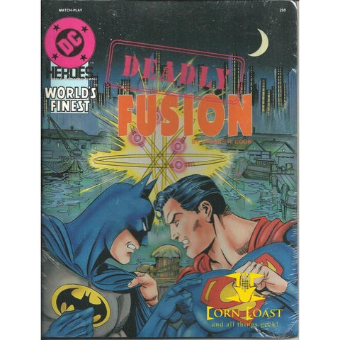 1990 Mayfair DC Heroes Deadly Fusion RPG - Corn Coast Comics
