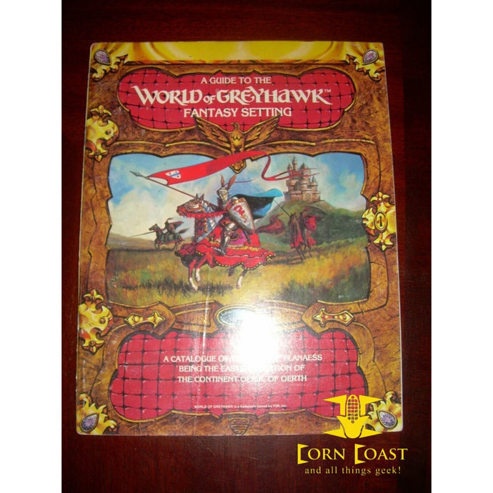 Used AD&D Greyhawk Adventures: Glossography & Guide to the World of Greyhawk