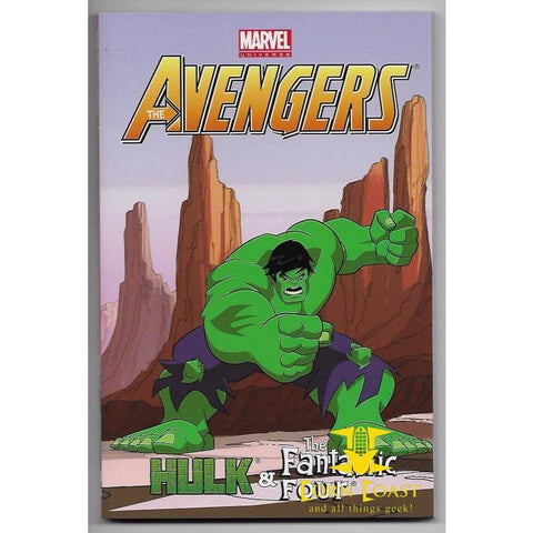 Avengers Hulk & Fantastic Four TP Digest Collects 21-24 (Marvel) - Corn Coast Comics