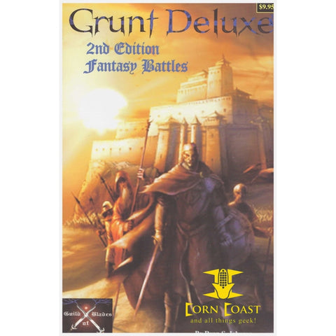 Grunt Deluxe 2nd Edition: Fantasy Battles Miniatures Fantasy War Game - Corn Coast Comics