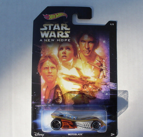 MOTOBLADE Star Wars: A NEW HOPE Hot Wheels 2014