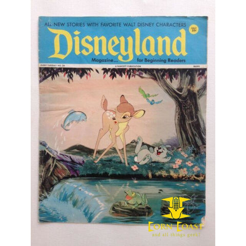 Disneyland Magazine (1972-1974 Fawcett) #24 VF - Corn Coast Comics