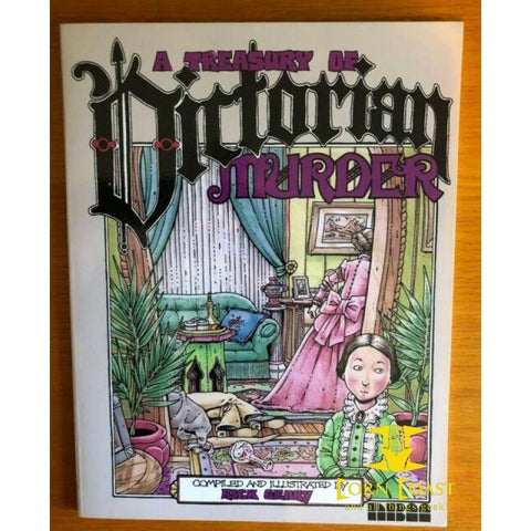 A Treasury of Victorian Murder TP - Corn Coast Comics