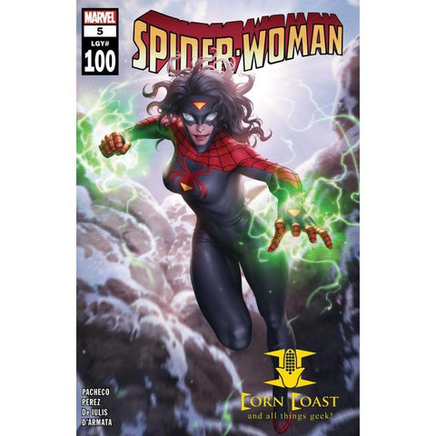 SPIDER-WOMAN #5 JUNGGEUN YOON CVR - New Comics