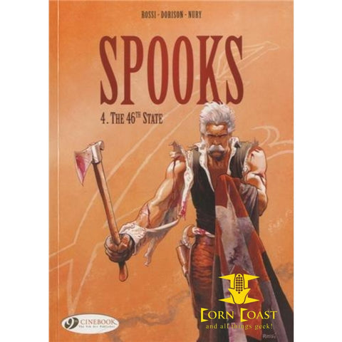 Spooks Volume 4: The 46th State softcover graphic novel TPB - Corn Coast Comics