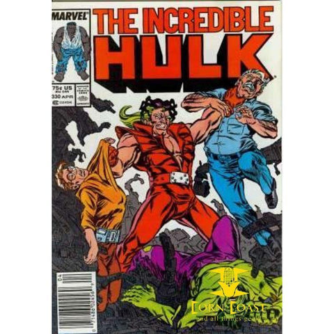 The Incredible Hulk #330 - Back Issues
