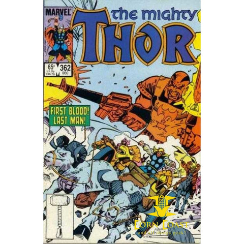 The Mighty Thor #362 VF - Back Issues