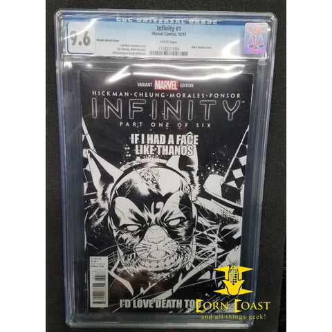 INFINITY #1 CGC 9.6 - Corn Coast Comics