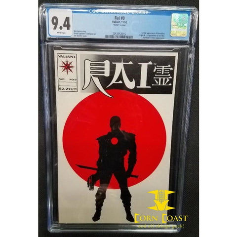 Rai #0 CGC 9.4 - Corn Coast Comics