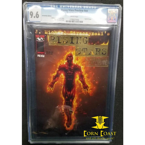 Rising Stars (1999) Preview Edition #nn CGC 9.6 - Corn Coast Comics